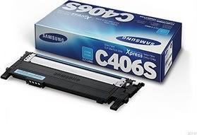 Samsung CLP-360 lasertoner, cyan, 1000s