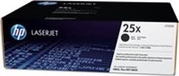 HP LaserJet 25X lasertoner, sort, 34500s