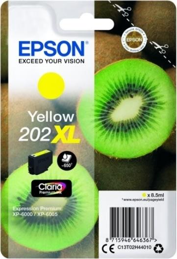 Epson T202 XL blækpatron, gul