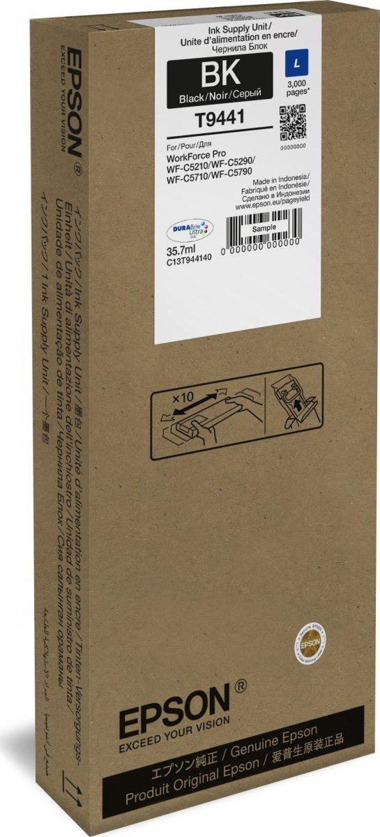 Epson T9441 L blækpatron, sort, 3000s