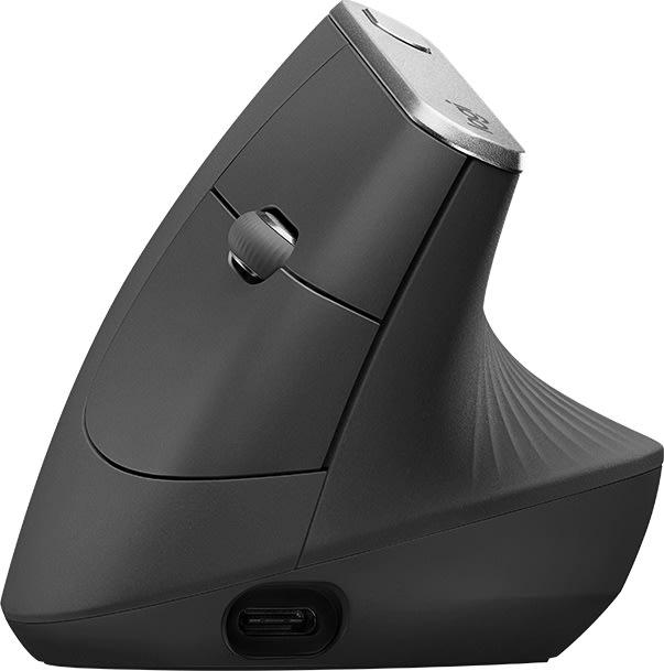 Logitech MX vertikal ergonomisk trådløs mus