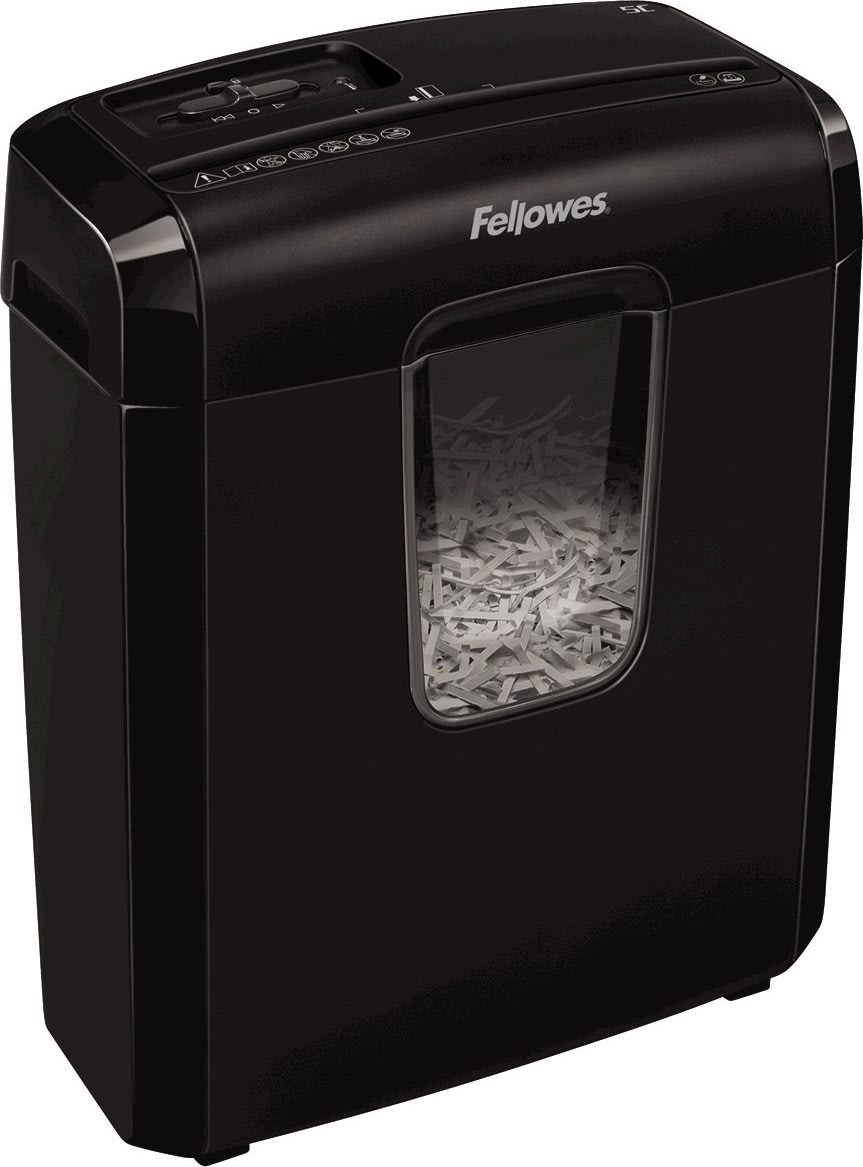 Fellowes Powershred 6C Cross-Cut Makulator