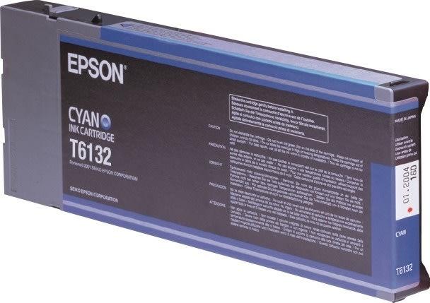 Epson T6132 blækpatron, cyan, 110ml