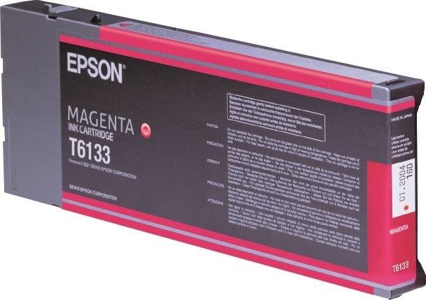 Epson T6133 blækpatorn, magenta, 110ml