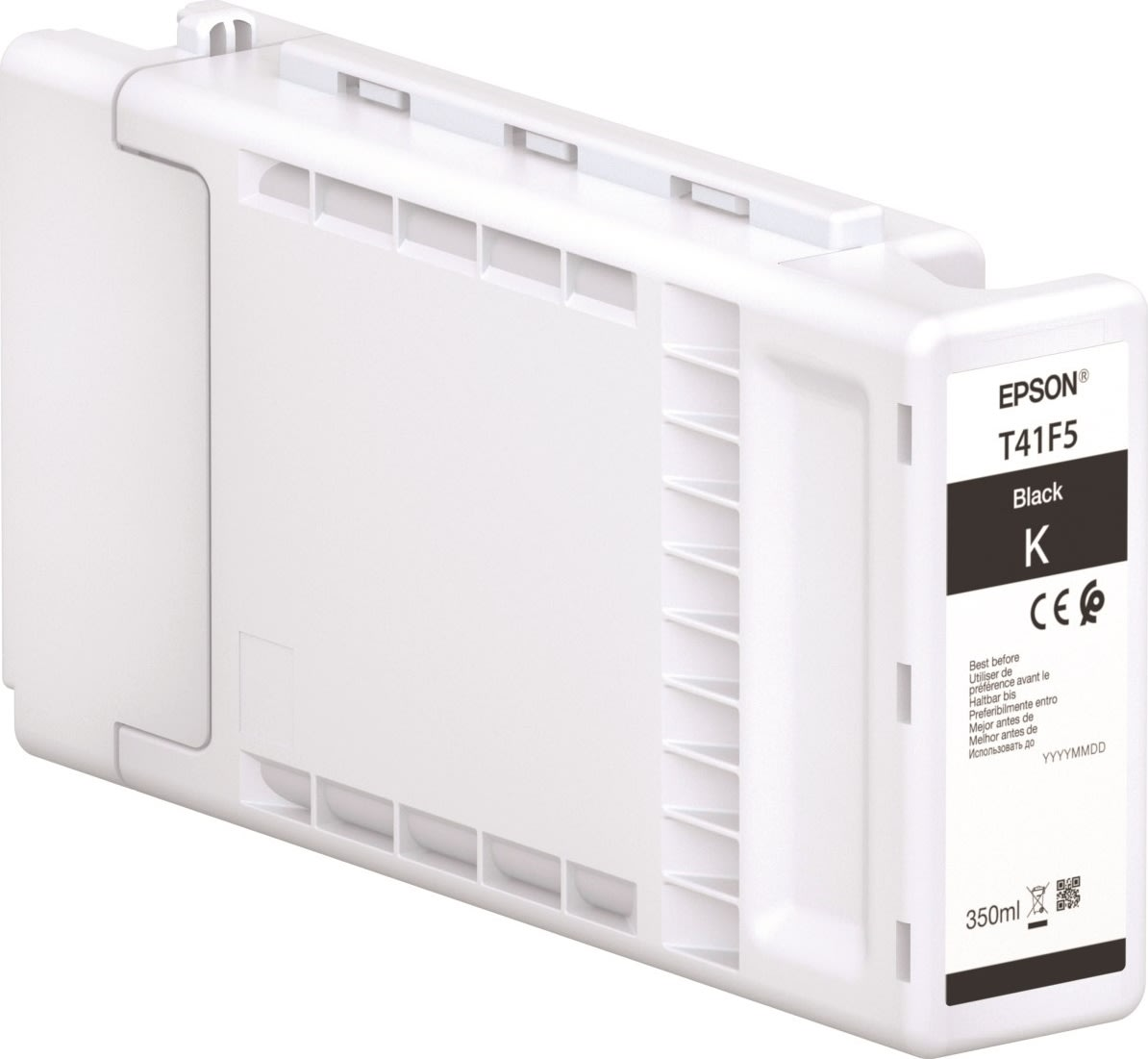 Epson XD2 T41F540 blækpatron, sort, 350ml