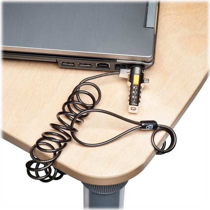 Kensington transportabel PC lås m/4-hjuls kode