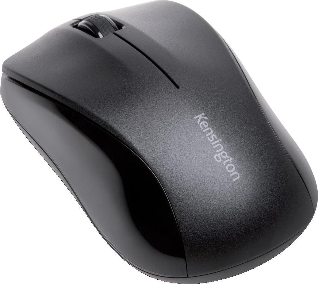 Kensington trådløs mus med 3 knapper, sort