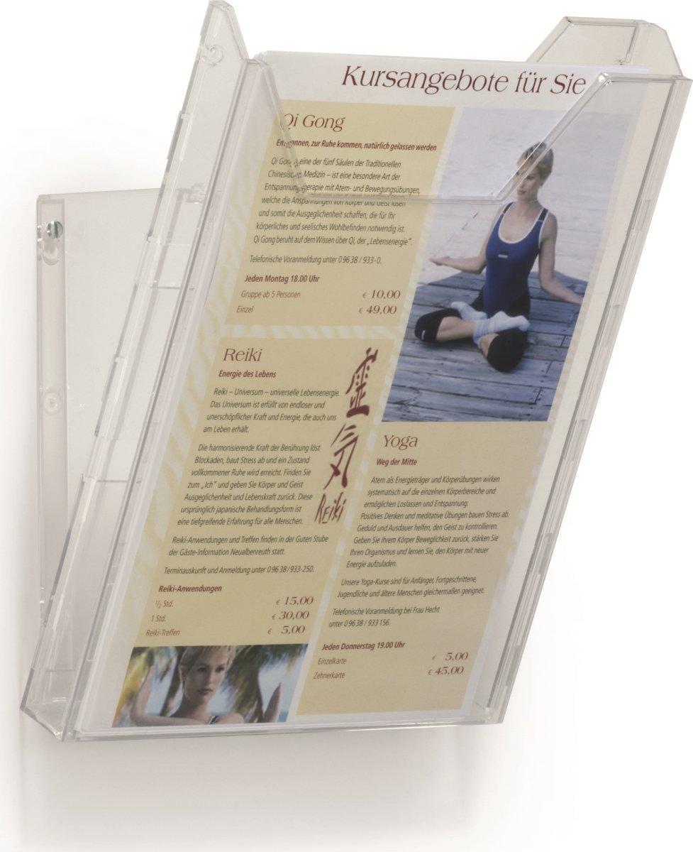 Durable Combiboxx Brochureholder A4