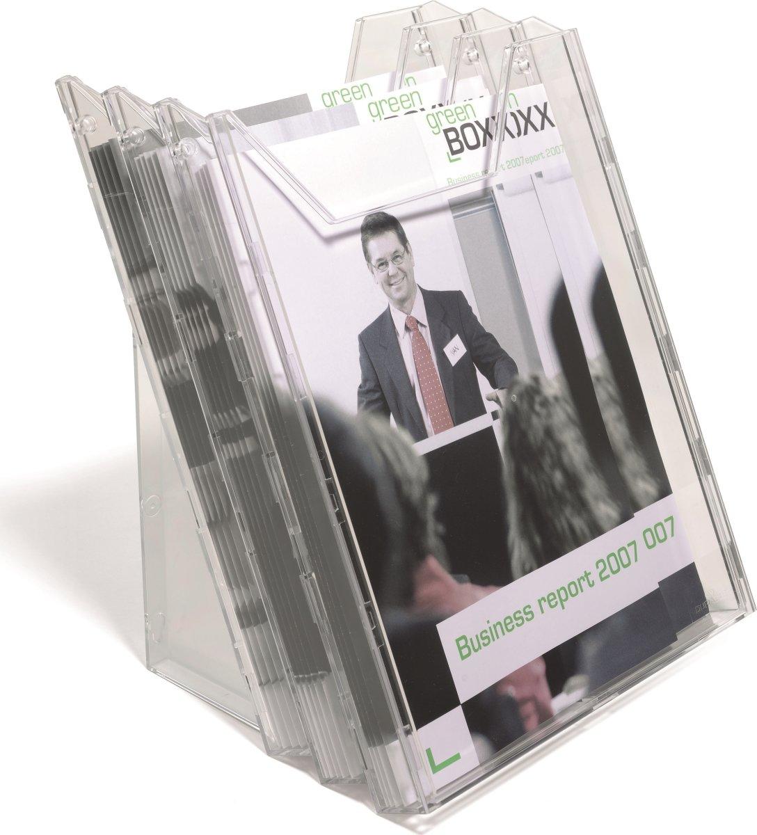 Durable Combiboxx Brochureholder A4 Set L