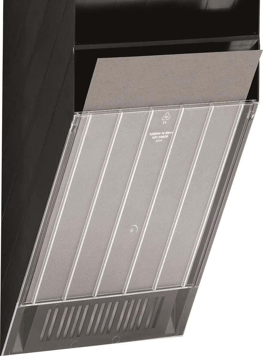 Durable Flexiboxx Frontplade A4 høj, transparent