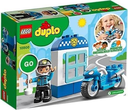 LEGO Duplo 10900 Politimotorcykel, 2-5 år
