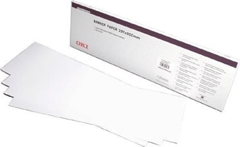 OKI A4 Banner Paper 215 x 1200mm / 160g box of 40