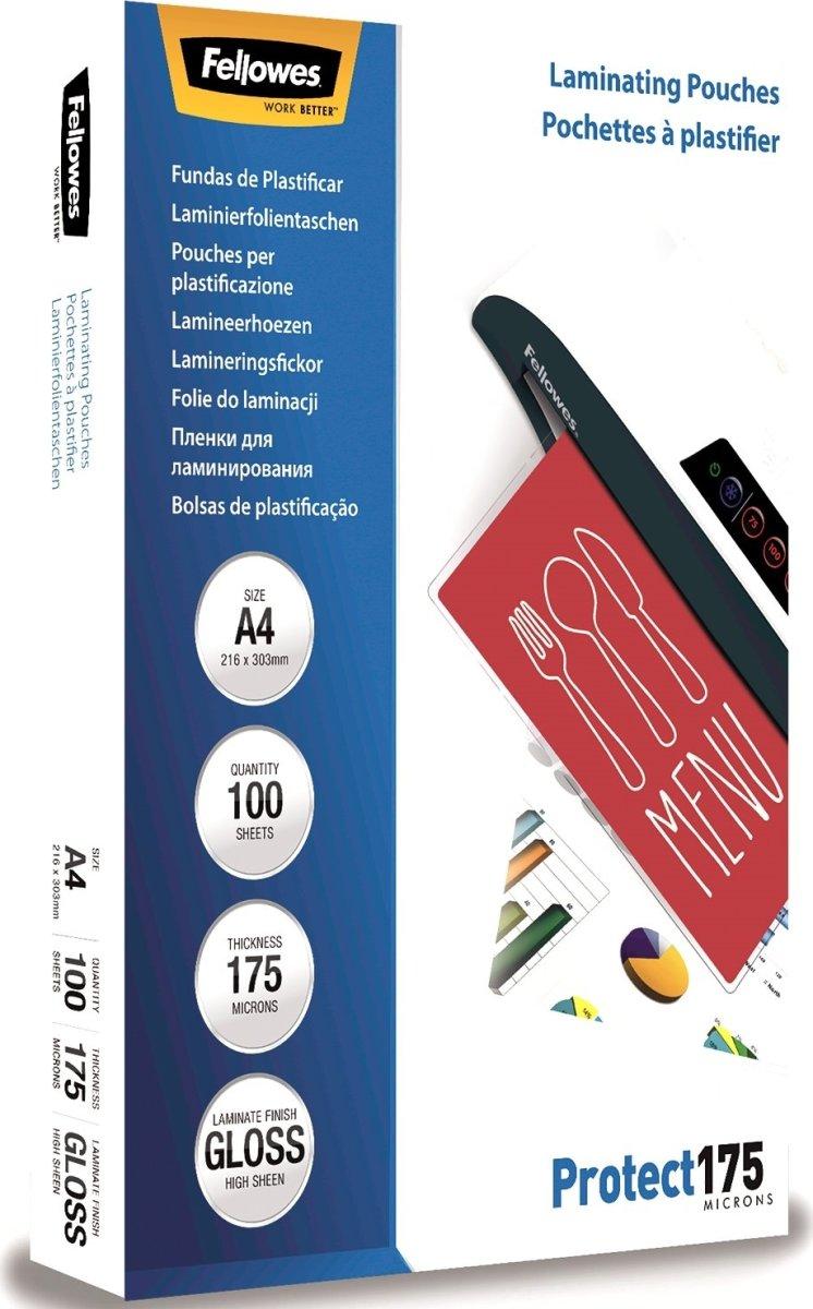 Fellowes Protect 175 mic lamineringslommer, gloss