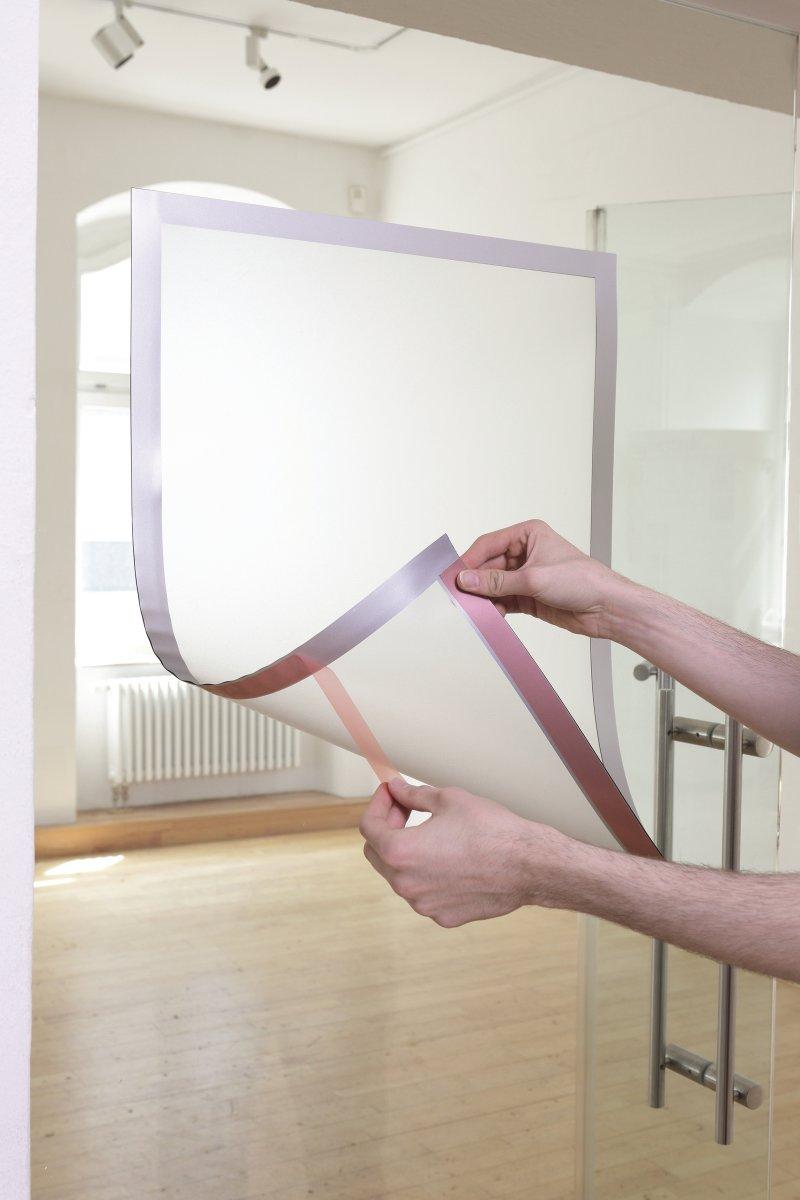Durable Poster Statisk Inforamme 70x100 cm, sort