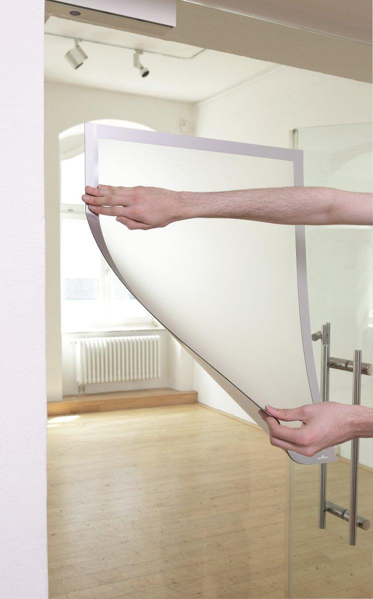 Durable Poster Statisk Inforamme 70x100 cm, sølv