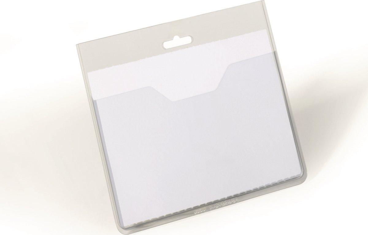 Durable Kongresmærke 60x90 mm, top, 20 stk.