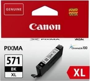 Canon CLI-571 XL blækpatron, sort, blister, 11ml