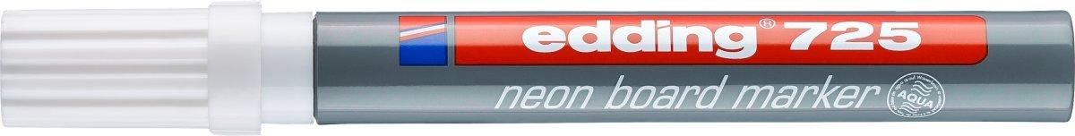 Edding 725 NEON whiteboard marker, hvid