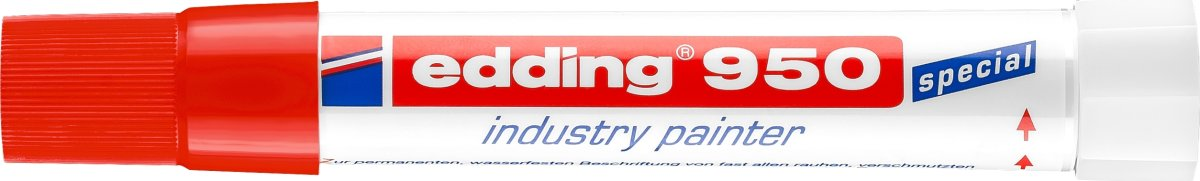 Edding 950 Industri Marker, rød