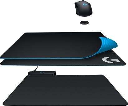 Logitech Gaming musemåtte med PowerPlay-system