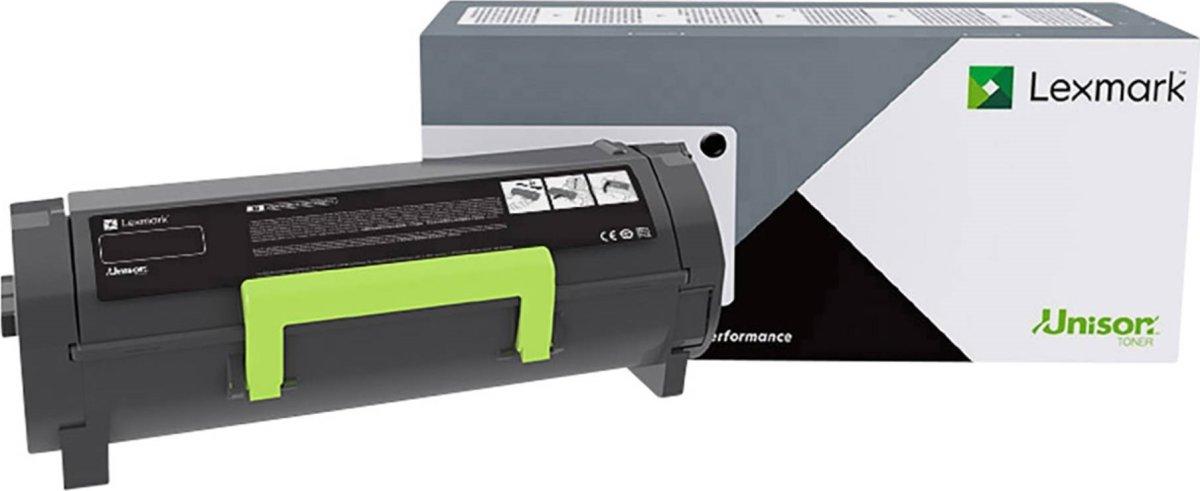 Lexmark B2442 højtydende lasertoner, sort, 6.000s