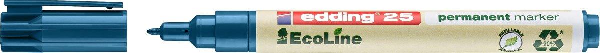 Edding 25 Ecoline Permanent Marker, blå