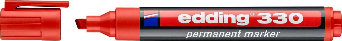 Edding 330 Permanent Marker, rød