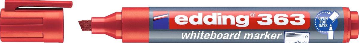 Edding 363 Whiteboard Marker, rød