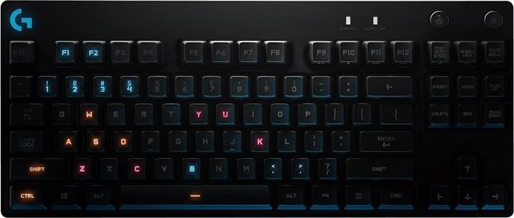 Logitech Pro mekanisk gaming tastatur (US intl.)