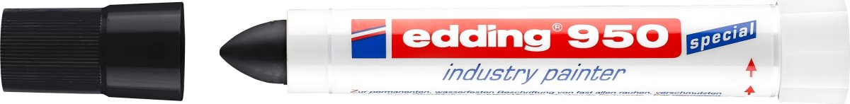 Edding 950 Industri Marker, sort