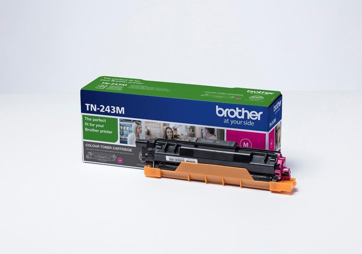 Brother TN-243M lasertoner, rød, 1.000 sider