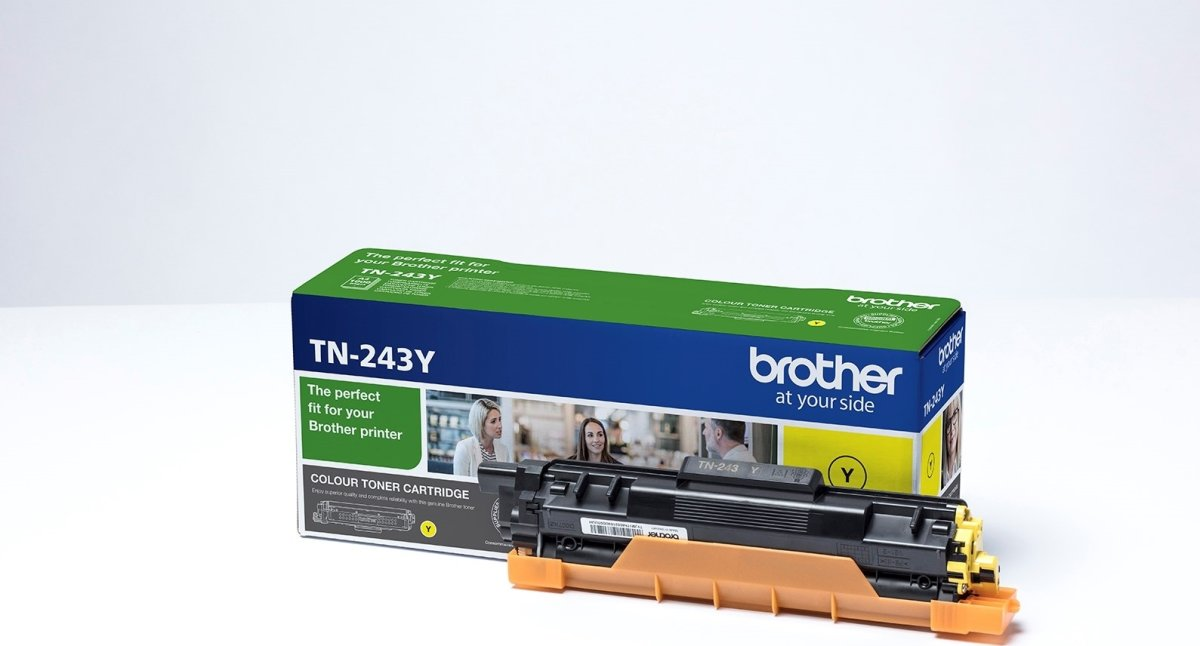Brother TN-243Y lasertoner, gul, 1.000 sider
