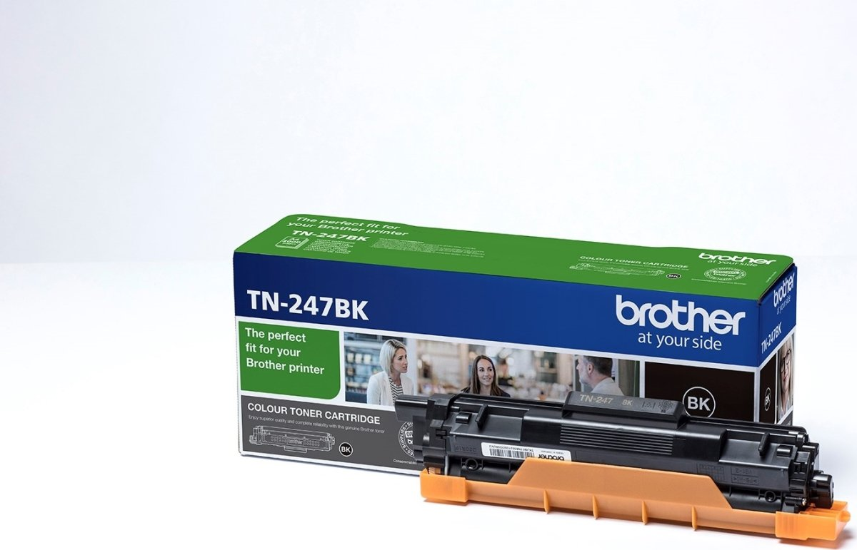 Brother TN-247BK lasertoner, sort, 3.000 sider