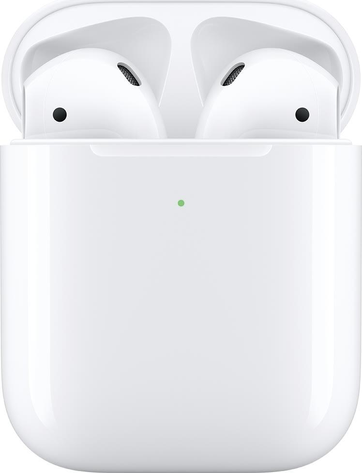 Apple AirPods med trådløst opladningsetui