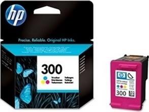 HP 300/CC643EE blækpatron, farve, 165s