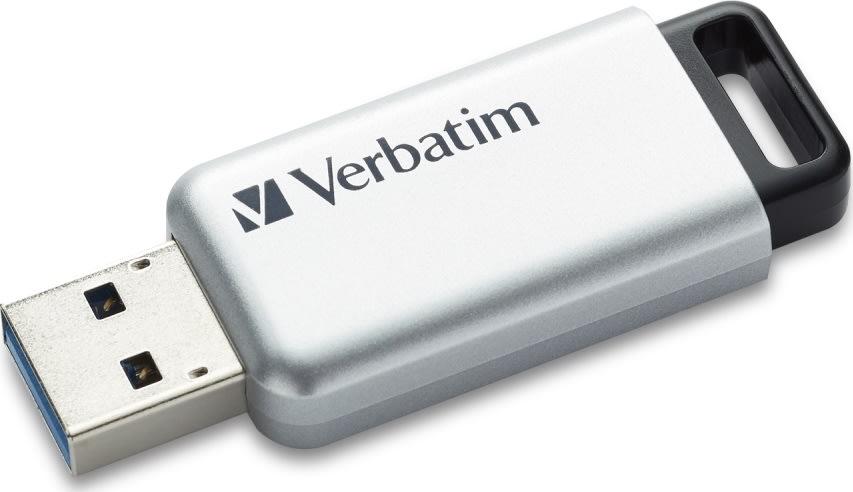 Verbatim USB 3.0 Secure Data Pro 16GB, Sølv