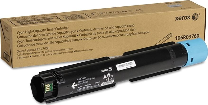 Xerox VersaLink C7000 lasertoner, cyan, 10.100s