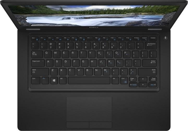 Dell Latitude 5490 bærbar notebook, sort