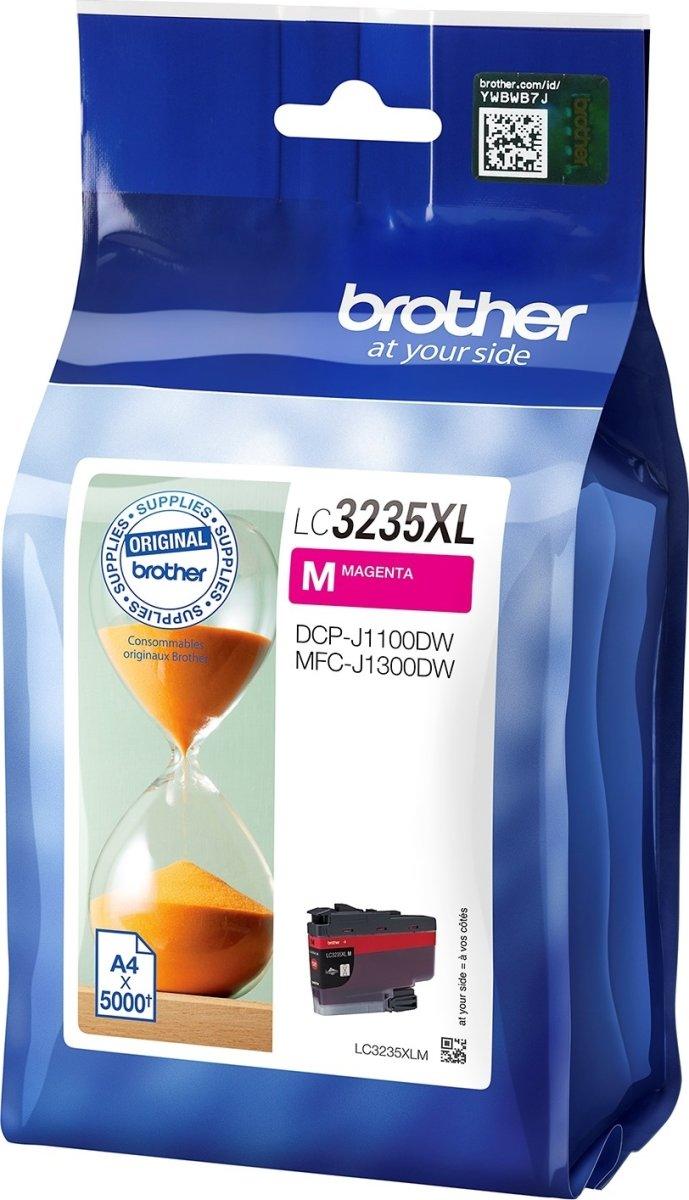 Brother LC3235XL blækpatron, Magenta, 5.000 sider