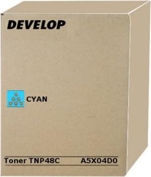 Develop T-NP48K Ineo +3350 Lasertoner, Cyan