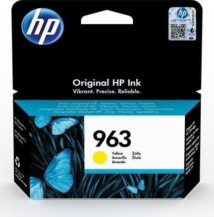 HP nr. 963/3JA25AE#BGX blækpatron, gul