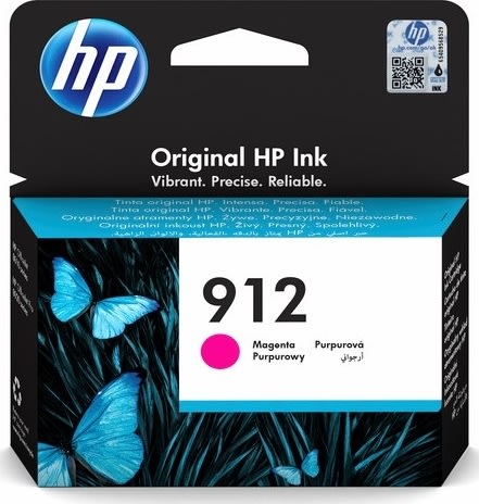 HP nr. 912/3YL78AE#BGX blækpatron, magenta
