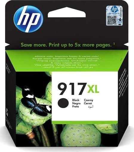 HP nr. 917/3YL85AE#BGX XL blækpatron, sort