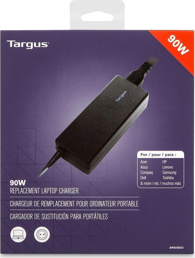 Targus universal AC opladeradapter, sort, 90W