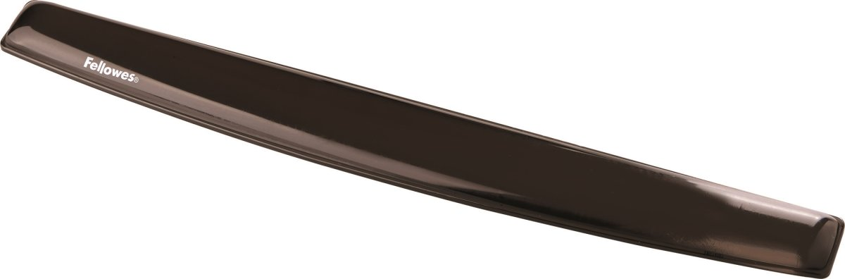 Fellowes gel håndledsstøtte til tastaturet, sort