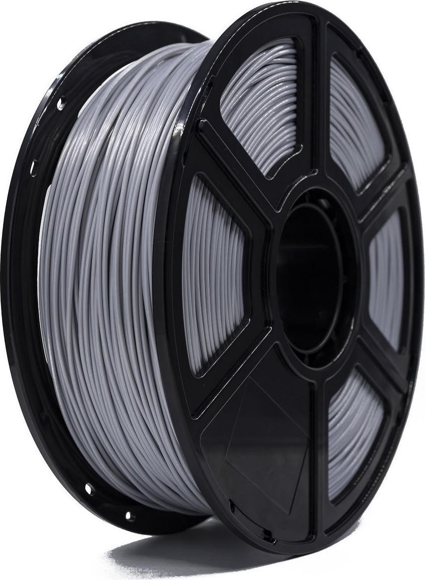 Gearlab PLA 3D filament 1,75mm, sølv, 1kg