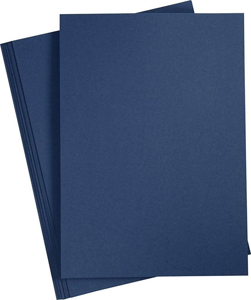 Happy Moments Papir, A4, 110g, 20 ark, blå