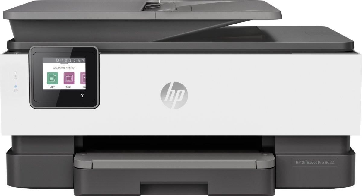 HP Officejet Pro 8022 e-Aio blækprinter