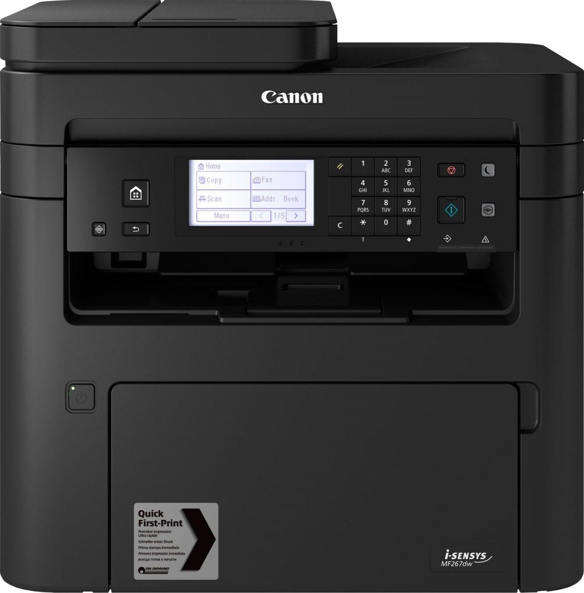 Canon i-SENSYS MF267dw mono laser MFP