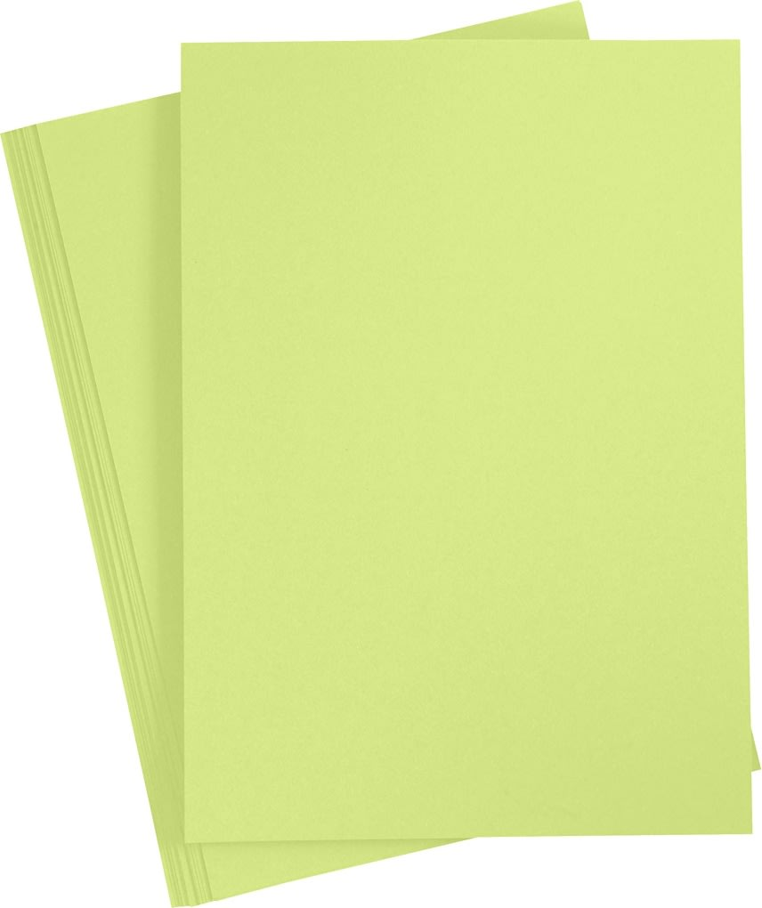 Paper Concept Karton, A4, 180g, 20 ark, løvgrøn